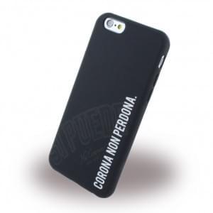 Si Puede - C6NONPERD - Silikon Handyhülle - Apple iPhone 6, 6s - Schwarz