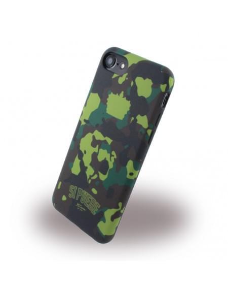 Si Puede - C7CAMOG - Silikon Handyhülle - Apple iPhone 7 - Grün