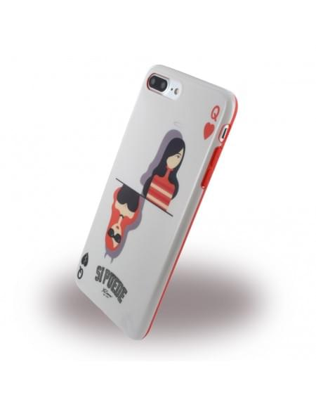 Si Puede - C7PQUEEN - Silikon Cover - Apple iPhone 7 Plus - Queen