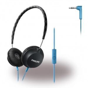 Philips - CitiScape Strada SHL5105BK/00 - Headset / Kopfhörer - Schwarz