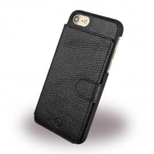 Uunique - Multi Pocker Leder Hardcover - Apple iPhone 7 / 8 - Schwarz