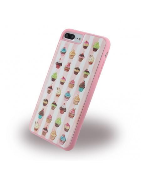 Benjamins - BJ7PCUP - Silikon Cover / Hülle - Apple iPhone 7 Plus - Cupcake
