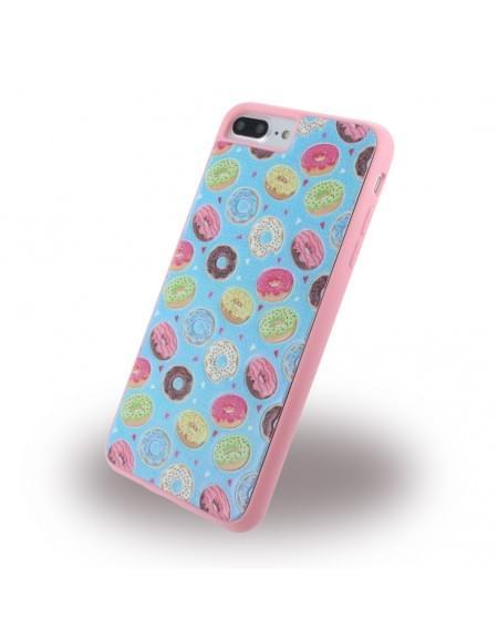 Benjamins - BJ7PDUN - Silikon Cover / Hülle - Apple iPhone 7 Plus - Donuts