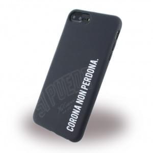 Si Puede Silikon Handyhülle - Apple iPhone 8 Plus / 7 Plus - Schwarz
