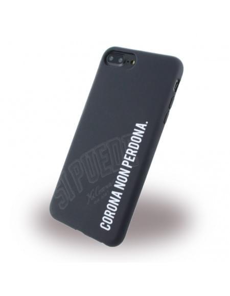 Si Puede - C7PNONPERD - Silikon Handyhülle - Apple iPhone 7 Plus - Schwarz