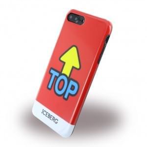 Iceberg Silikon Cover / Hülle - Apple iPhone 7 / 8 Plus Top