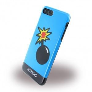 Iceberg Silikon Cover / Hülle - Apple iPhone 8 Plus / 7 Plus - Bomb