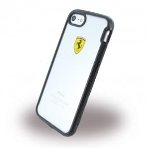 Ferrari - Racing Shockproof Handyhülle - Apple iPhone 7 / 8 - Transparent