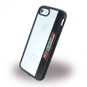 Ferrari - Racing Shockproof Handyhülle Apple iPhone 7 / 8 - Schwarz / Rot