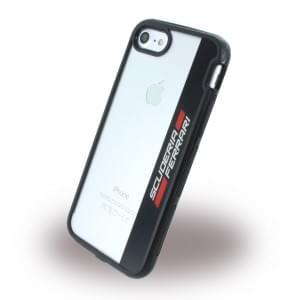 Ferrari - Racing Shockproof Handyhülle Apple iPhone 7 / 8 - Schwarz / Rot