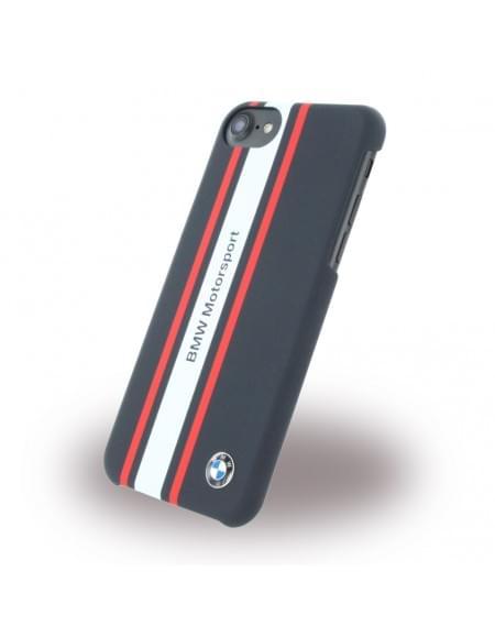 Original BMW BMHCP7SRN Rubber Hardcover / Case / Handyhülle Apple iPhone 7 - Navy