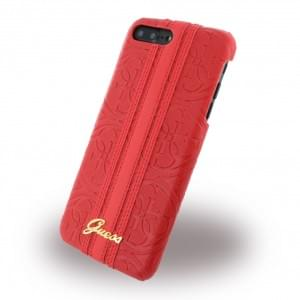 Guess - Heritage Hardcover Apple iPhone 8 Plus / 7 Plus - Rot