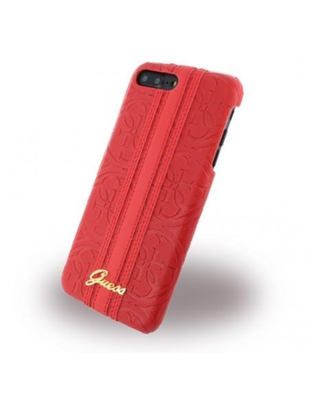 Original Guess - Heritage GUHCP7SLLHERE Hardcover Apple iPhone 7 Plus - Rot
