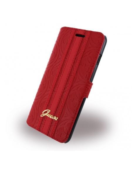 Original Guess - Heritage GUFLBKP7SLLHERE - Handytasche - Apple iPhone 7 Plus - Rot