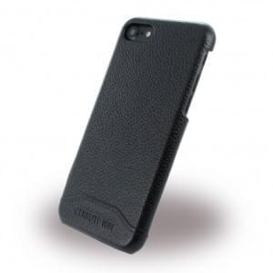 Cerruti 1881 Leder Hardcover - Apple iPhone 7 / 8 - Schwarz