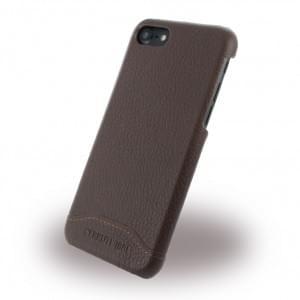 Cerruti 1881 Leder Hardcover - Apple iPhone 7 / 8 - Braun