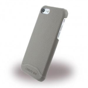 Cerruti 1881 iPhone SE 2020 / iPhone 8 / 7 Leder Hardcover Taupe