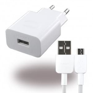 Huawei - HW-059200EHQ - Ladegerät 2A + Ladekabel Micro USB - Weiss
