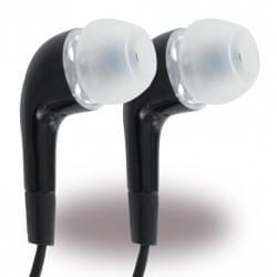 In-Ear Stereo Headset 3.5mm Klinke - Schwarz