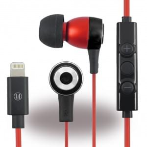 Uunique - Regent UUOOMFISTER1 - Stereo Headset - Apple iPhone 7, 7 Plus - Rot/ Schwarz
