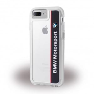 BMW - Shockproof Hard Cover / Phone Casefür Apple iPhone 7 Plus Navy / Weiss