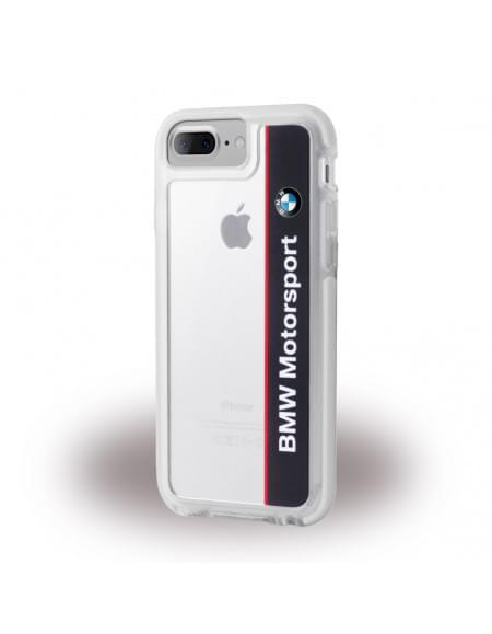 Original BMW - Shockproof Hard Cover / Phone Casefür Apple iPhone 7 Plus Navy / Weiss