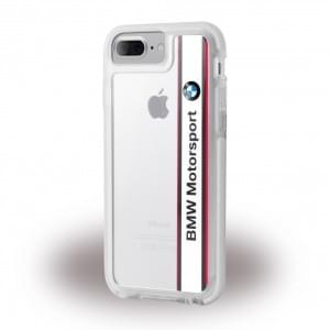 BMW - Shockproof Hard Cover / Case - Apple iPhone 8 Plus / 7 Plus - Weiss