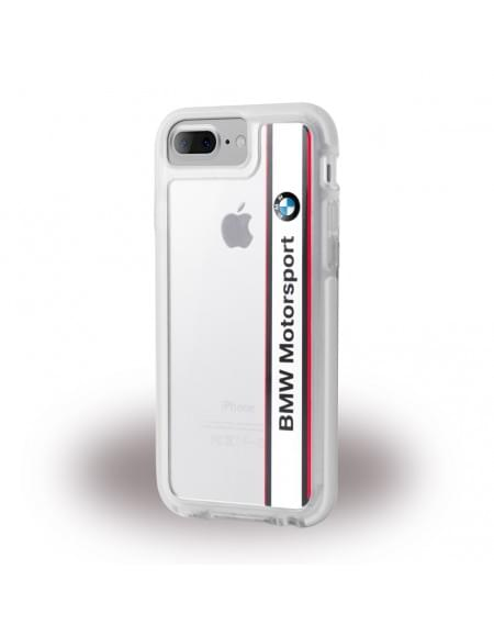 Original BMW - Shockproof Hard Cover / Case - Apple iPhone 7 Plus - Weiss