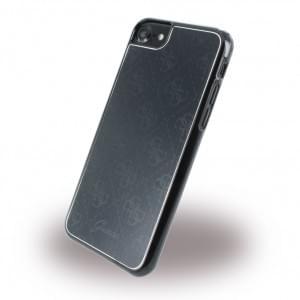Guess 4G Metallic Hard Cover für Apple iPhone 7 / 8 - Schwarz