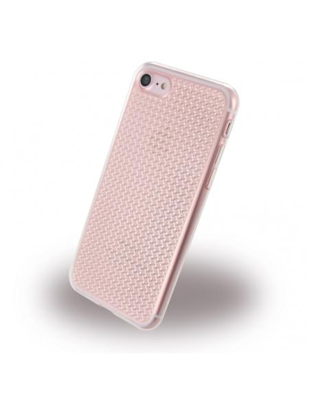 Diamond Cover - Smooth Glossy Crystal - Silikon Case - Apple iPhone 7 - Pink