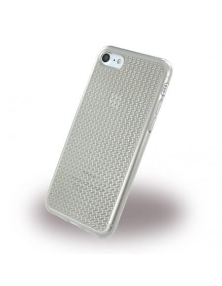 Diamond Cover - Smooth Glossy Crystal - Silikon Case - Apple iPhone 7 - Grau
