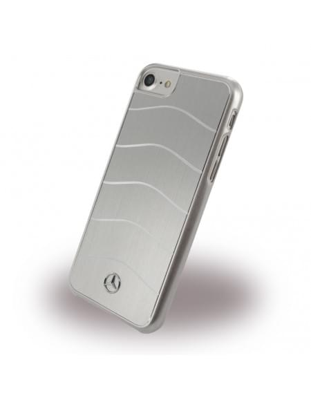 Mercedes Benz - WAVE VIII MEHCP7CUSALSI - Hardcover - Apple iPhone 7 - Silber