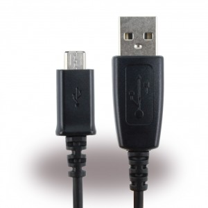 Original Samsung Datenkabel Micro USB ECB-DU28BE 80cm Schwarz