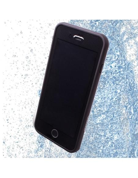 Redpepper - XLF Wasserfeste Shockproof Schutzhülle / Handy Cover - Apple iPhone 7 Plus - Schwarz