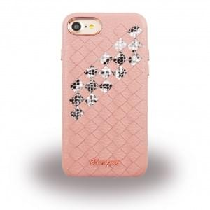 Uunique - Snake UUFFIP7HS007 - Hardcover - Apple iPhone 7 - Pink
