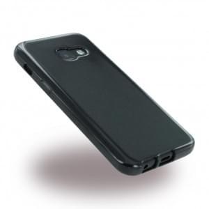 Ultra Dünn Silikon Case / Handyhülle für Samsung Galaxy A3 (2017) A320F - Schwarz
