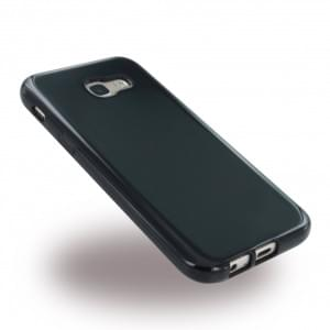 Ultra Dünn Silikon Case / Handyhülle für Samsung Galaxy A5 (2017) A520F - Schwarz