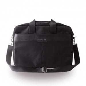Cerruti 1881 Nylon CECB15NYBK Notebook Tasche / Sleeve - 15 Zoll Tablets - Schwarz