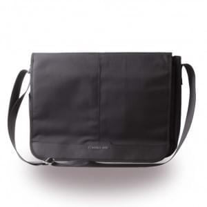 Cerruti 1881 Nylon CEMB15NYBK Messenger Tasche / Sleeve 13-15 Zoll Tablets - Schwarz