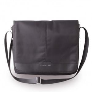 Cerruti 1881 Nylon CEMB13NYBK Messenger Tasche / Sleeve 13 Zoll Tablets - Schwarz