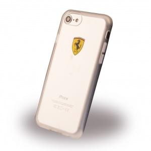 Ferrari Racing Shield Frame Cover für Apple iPhone 7 / 8 Transparent