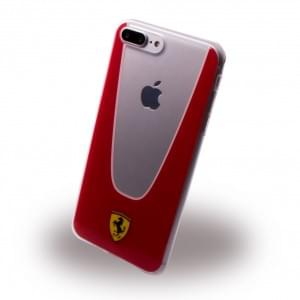 Ferrari - Racing Aperta PC / TPU Cover - Apple iPhone 8 Plus / 7 Plus Rot