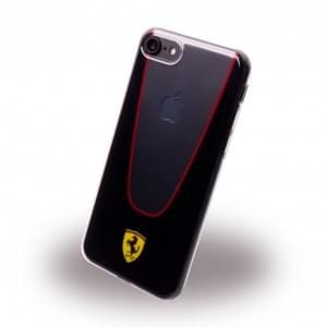 Ferrari - Racing Aperta PC / TPU Cover - Apple iPhone 7 / 8 Schwarz