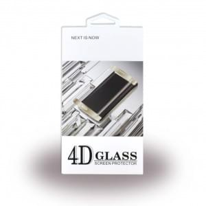 4D Glas Displayschutz Tempered Glass für Samsung Galaxy S8 - G950F - Schwarz