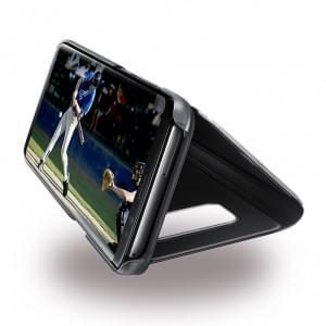 Samsung EF-ZG950CB Clear View Standing Hülle / Cover  Schwarz für Galaxy S8 G950F