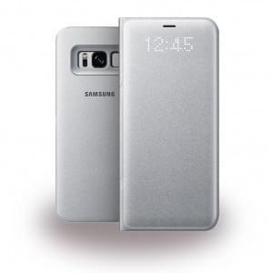Samsung - EF-NG950PS - LED Hülle / View Cover / Book Case für Galaxy S8 G950F - Silber