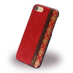 Uunique Queens Hardcover für Apple iPhone 7 / 8 - Rot