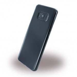 Ultra Dünn Silikon Case für Samsung Galaxy S8 Plus - G955F - Schwarz