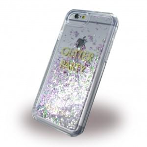 Guess - Liquid Glitter Hardcover - Apple iPhone 8 / 7 - Lila
