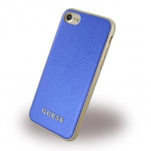 Guess IriDescent Hardcover für Apple iPhone 7 / 8 - Blau